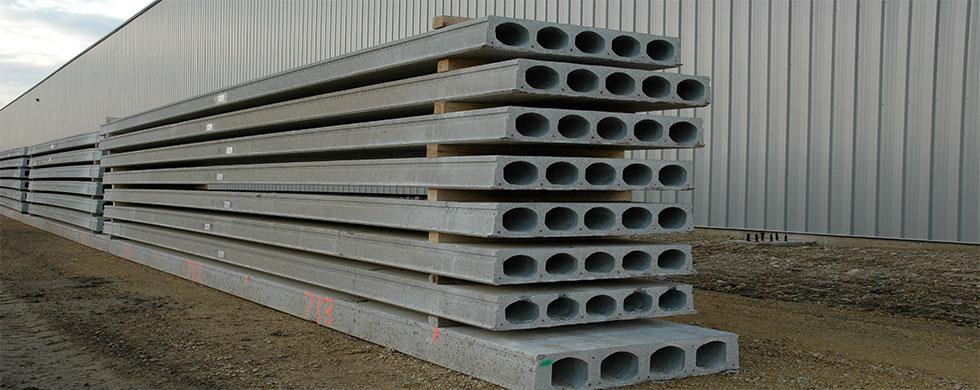 Hollowcore Concrete Slab 200-1200